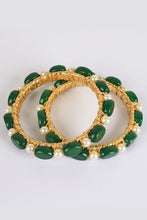 Load image into Gallery viewer, Green Feroza Bangles