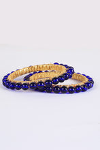 Load image into Gallery viewer, Blue Pearls Bangles