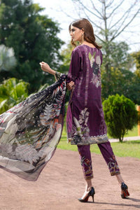 Arasteh Embroidered Printed Lawn 3 PC