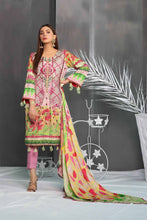 Load image into Gallery viewer, Arasteh Cotail 3Pc Embroidered Suit
