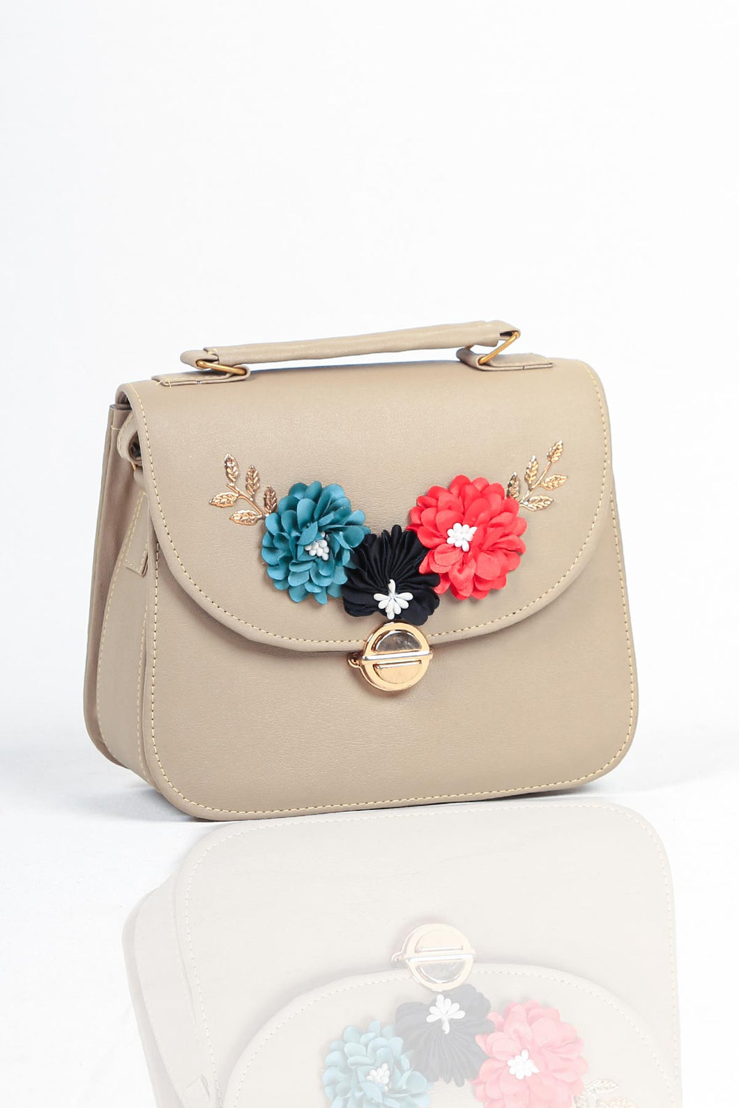 Flowers shoulder bag