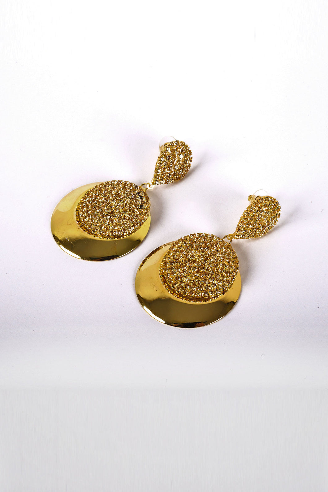Textured Drop Earrings