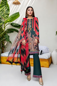 Embroidered Linen 3PC Suit