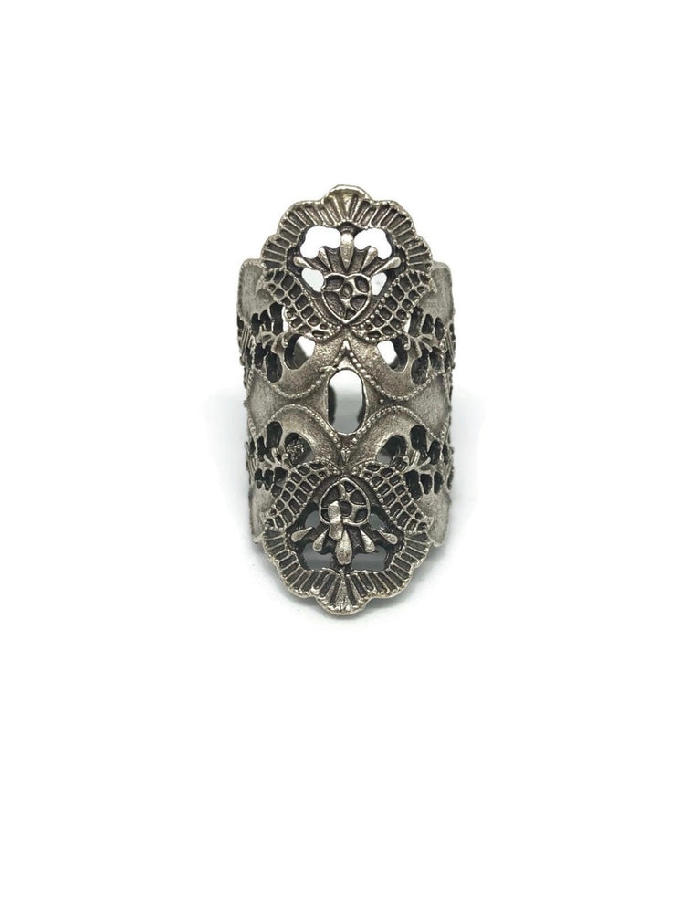 Bohemian Flora Adjustable Ring