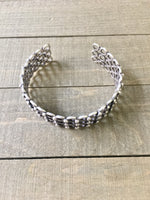 Band Together Silver Cuff