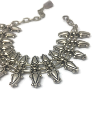 Silver Tribal Spear Bracelet