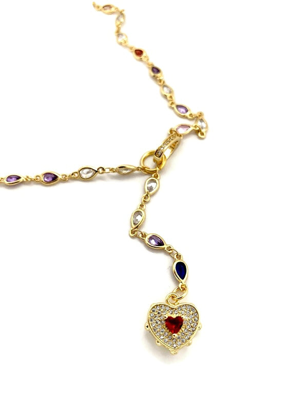 Love Spell 14k Gold Necklace