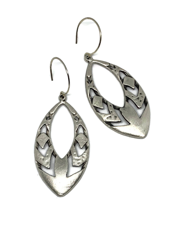 My Tribe Earrings - Silver