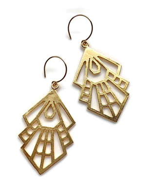 Gold Tribe Gypsy Earrings