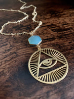 Egypt Third Eye Necklace