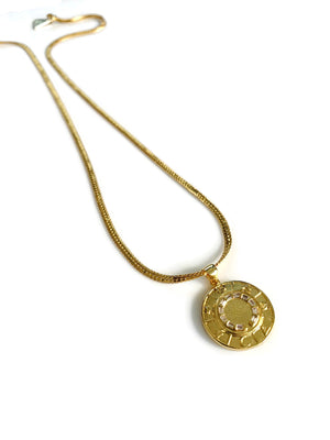 Good Fortune 22k Gold Necklace