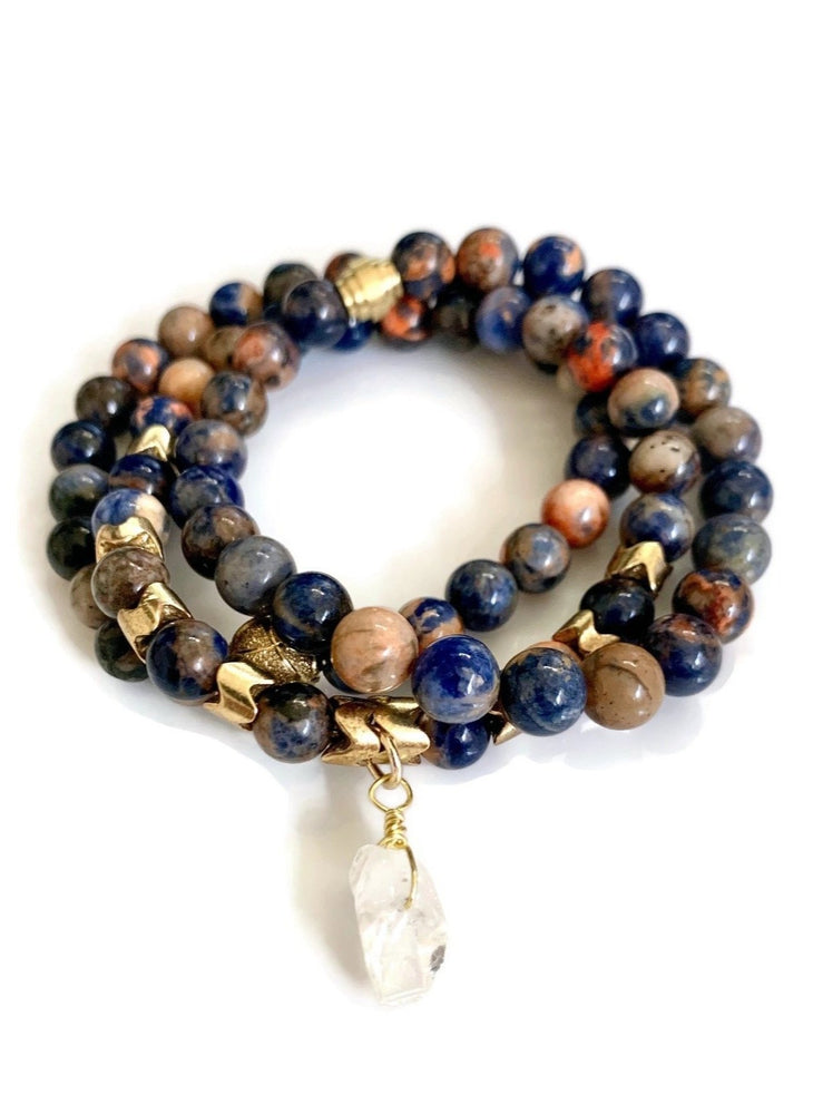 Truth & Intuition Sodalite Bracelet Set