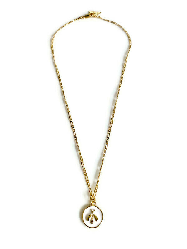 Bee Kind 14k Gold Necklace