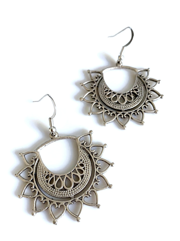 Tribal Star Earrings
