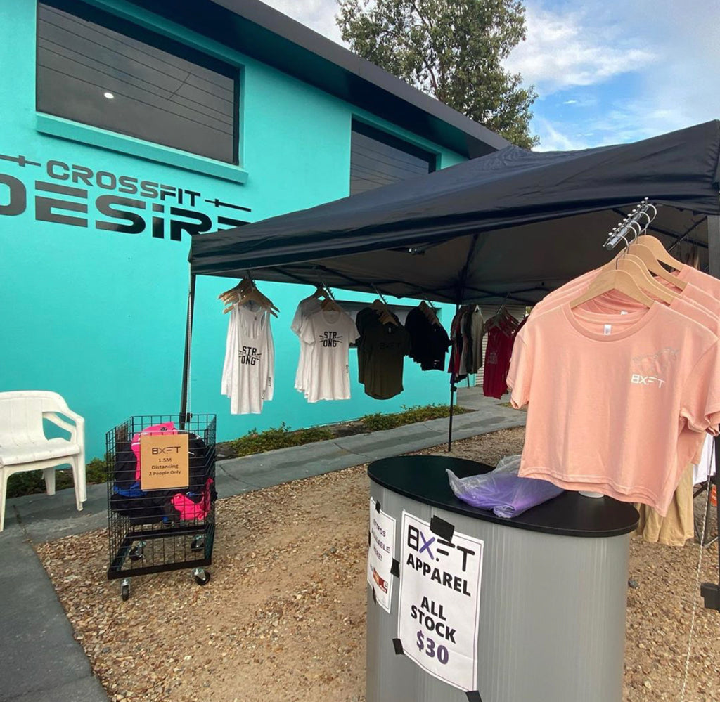 BXFT Pop Up Shop Duel at Desire 2020