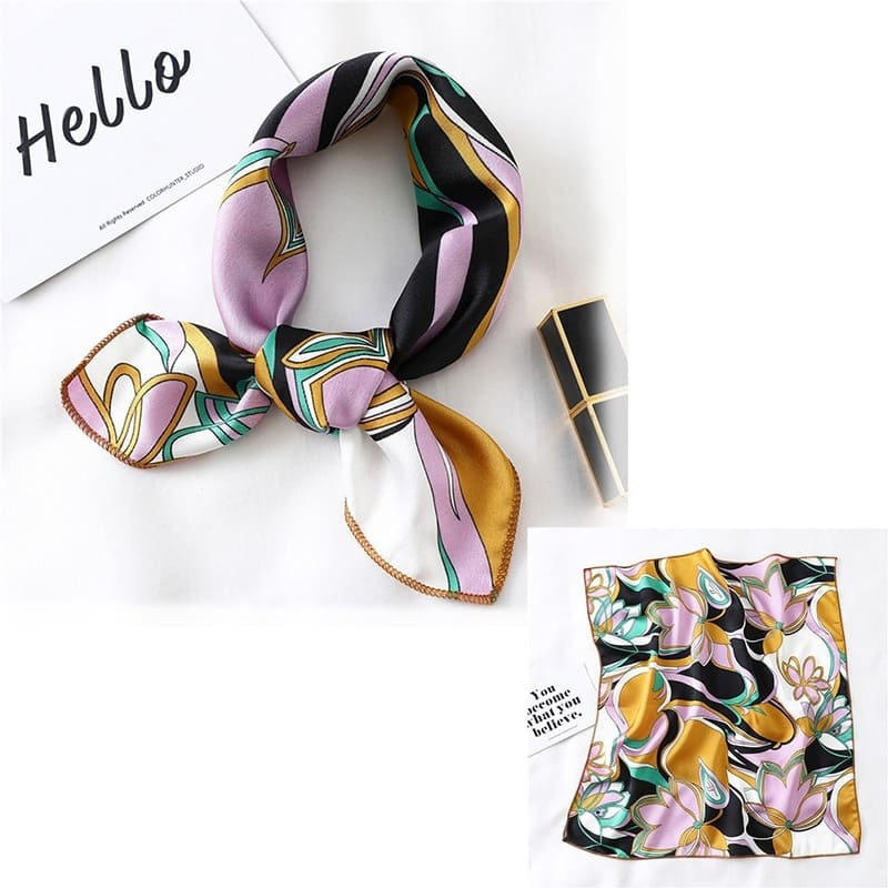Bandana Satin Multicolore