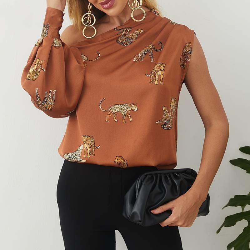Blouse Satin.