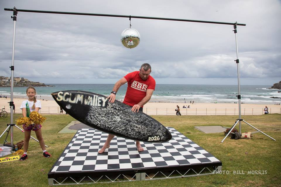 Bondi Boardriders single fin classic