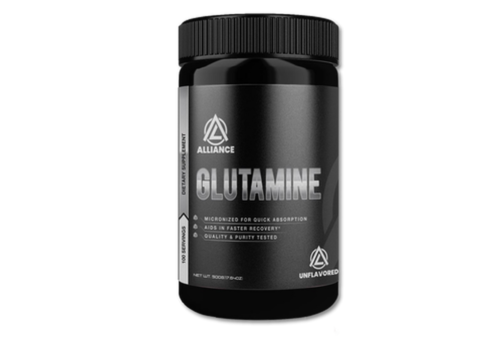 How can Glutamine help in rebuilding muscle tissue?