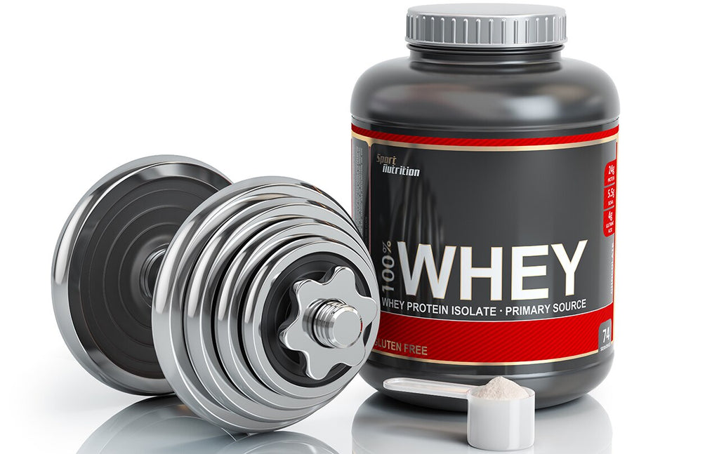 Build proper muscles with isolate whey protein