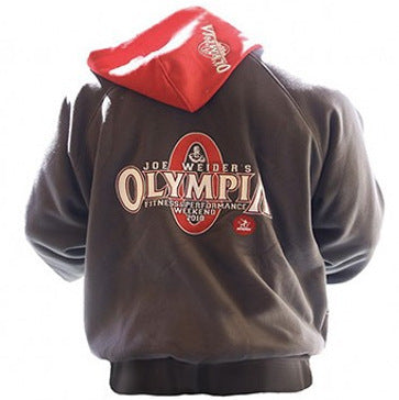 Fitness Hooded Jacket