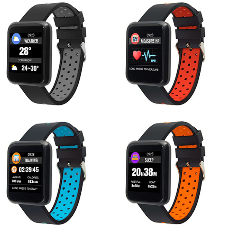 IP68 Waterproof Fitness Tracker Smartwatch