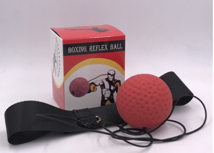 Boxing reaction training ball speed ball fight decompression ball head type household boxing training equipment E306
