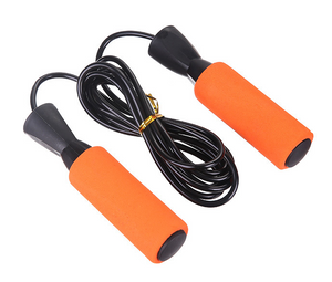 Fitness exercise sponge jump rope