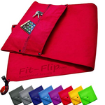 Fitness Towel Set With Zipper Compartment