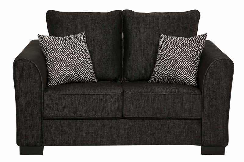Darcey 2 Seater - Black