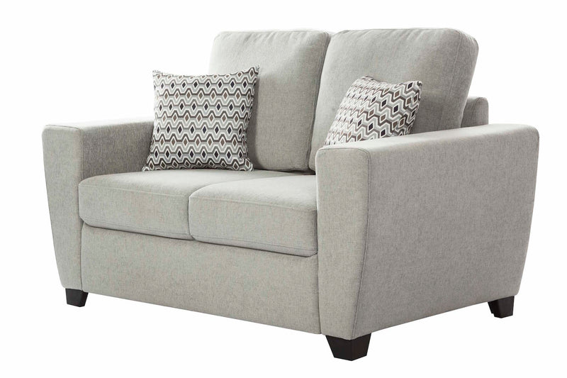 Hannover 2 Pc Lounge Suite - Light Grey