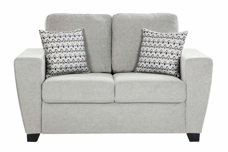 Hannover 3 Pc Lounge Suite - Light Grey