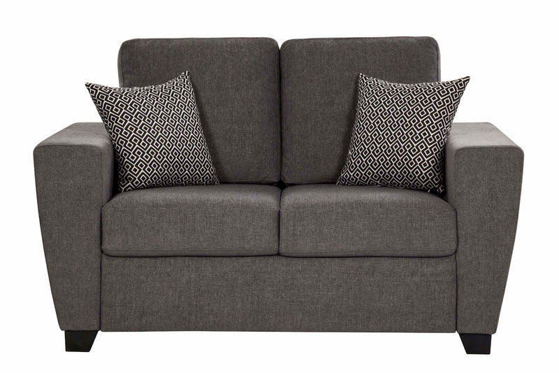 Hannover 2 Pc Lounge Suite - Dark Grey