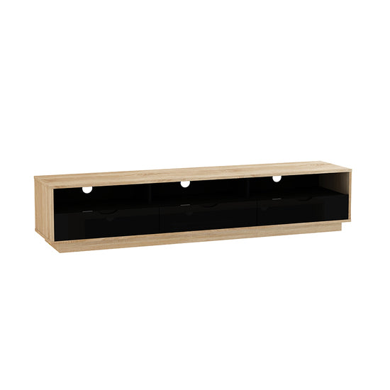 Zod 1800 Tv Cabinet Black