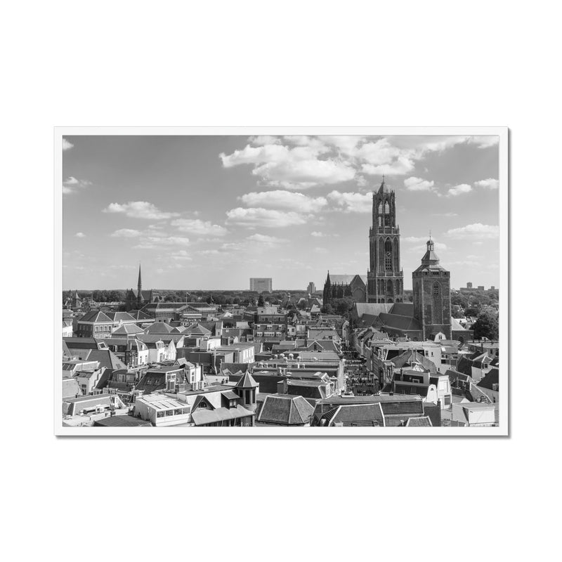 Utrecht City - Framed