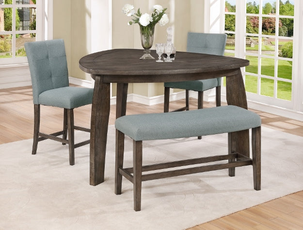 Crown Mark Hollis Dining Table and 3 chairs