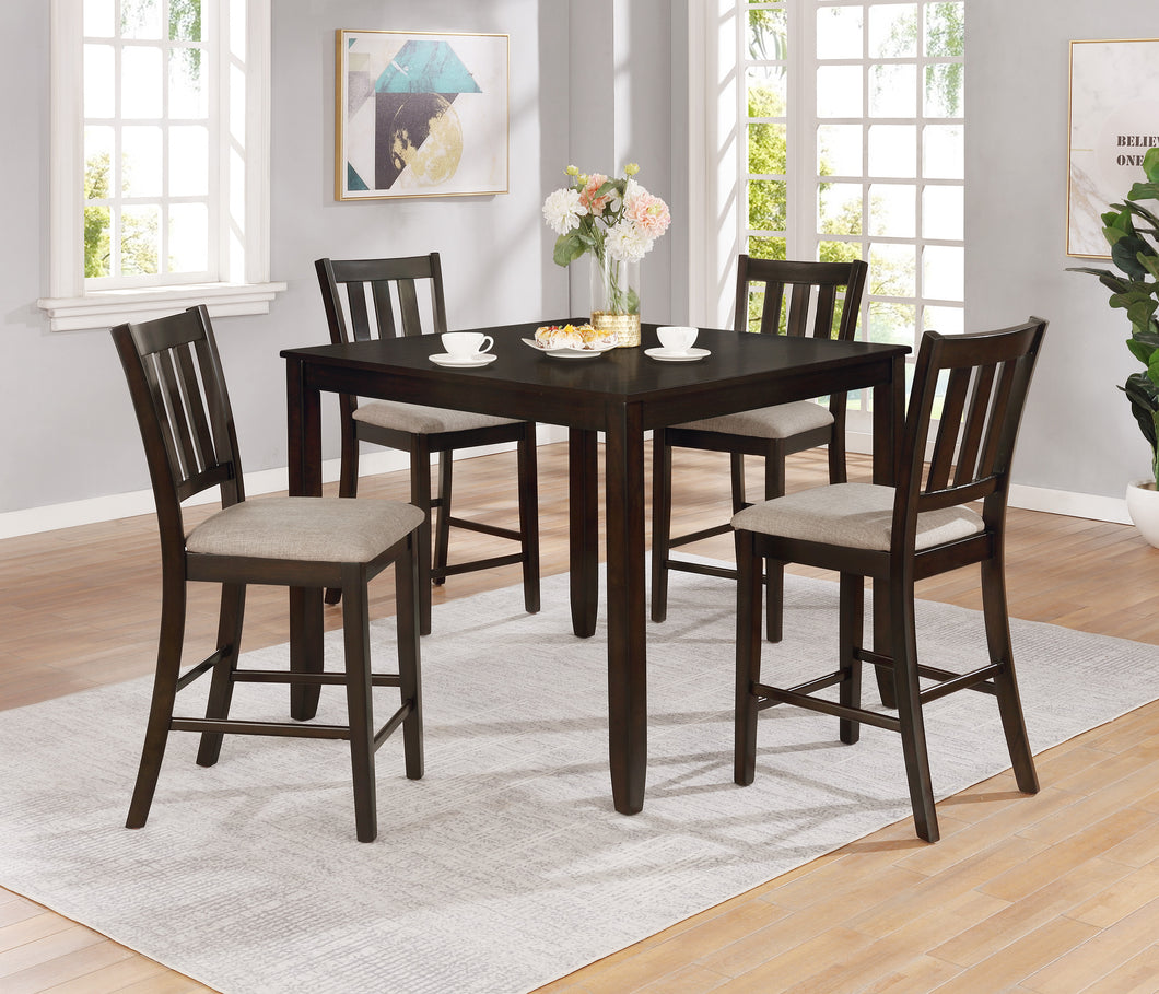 Amber Counter Height Dining set