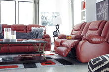Load image into Gallery viewer, Vacherie Salsa Reclining Sofa/Couch & Double Reclining Loveseat with Console