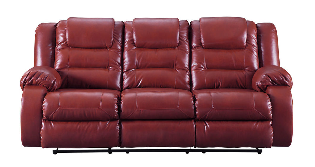 Vacherie Salsa Reclining Sofa/Couch