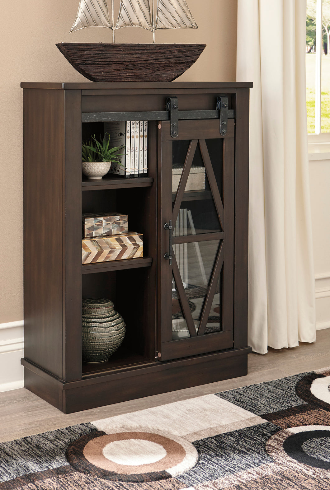 Bronfield Brown Accent Cabinet