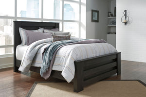 Brinxton Black Queen/Full Panel Headboard