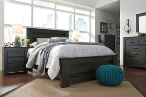 Brinxton Black King/Cal King Panel Headboard