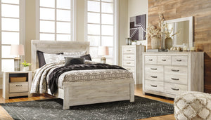 Bellaby Whitewash Queen Bedroom Set