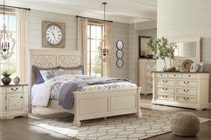Bolanburg Two-tone Queen Louvered Bedroom Set