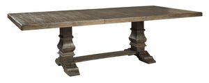 Wyndahl Rustic Brown Rectangular DRM EXT Table