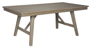Aldwin Gray Rectangular Dining Room Table