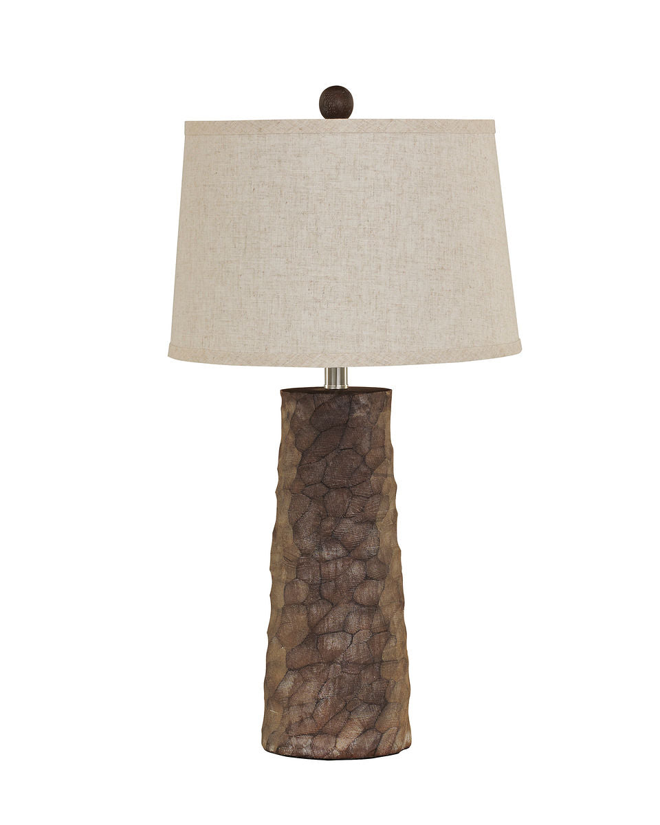 Sinda Gray Poly Table Lamp