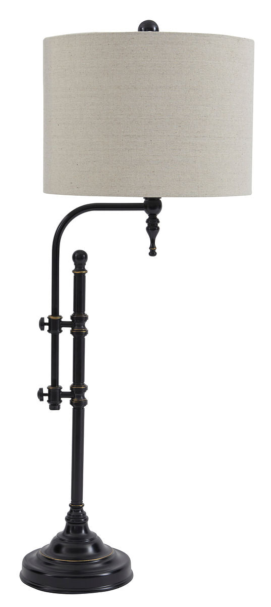 Anemoon Black Metal Table Lamp