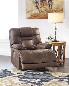 Wurstrow Umber Power Recliner/ADJ Headrest