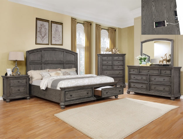 Lavonia Queen Storage Bed
